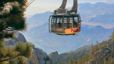 Valentine's on the Palm Springs Tram