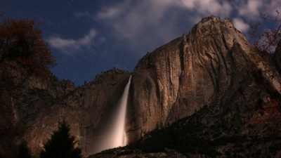 Moonlight, Yosemite, Waterfalls, and Your Camera