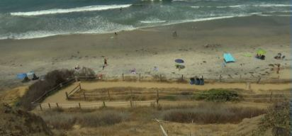 Battle Brews at Beacon's Beach in Encinitas Over Iconic Trail