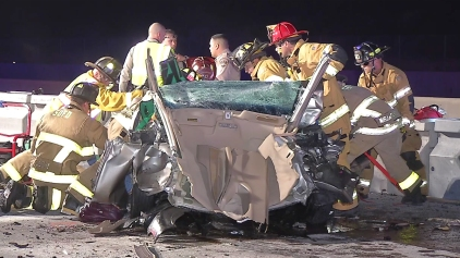 Family Car Hit by Wrong-Way DUI Suspect, 2 Killed