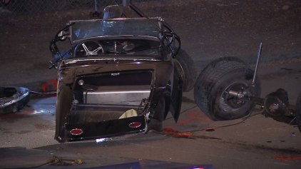 Driver Dies in Hot Rod Crash