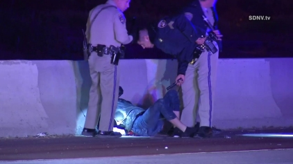 Motorcycle Crash Ends High-Speed Chase in North Park