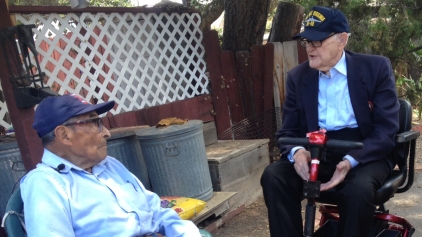 2 Oldest Pearl Harbor Survivors Reunite 74 Years Later