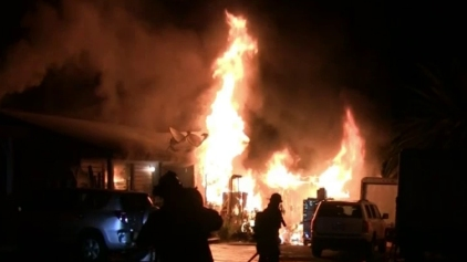 Family Escapes National City House Fire