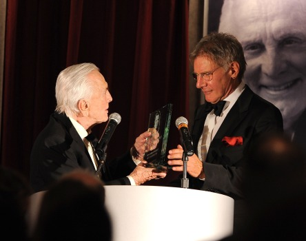 As Actor, Icon or Ex-Carpenter, Harrison Ford Collects the Kirk Douglas Award