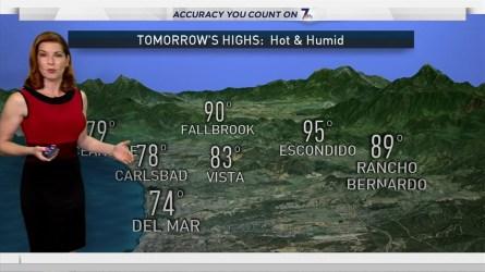 Dagmar Midcap's Weather Forecast for July 25, 2016