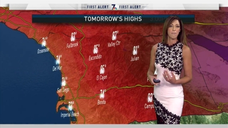 San Diego Weather, Forecast, Maps, and Doppler Radar | NBC 7 San Diego