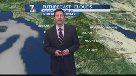Greg Bledsoe's Morning Forecast for Saturday Feb. 13, 2016