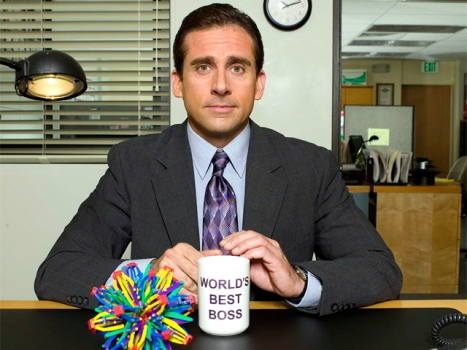 "Steve Carell Gets While the Getting's Good, Says He's Leaving ""The Office"""