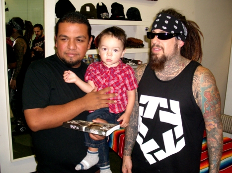 Korn's Fieldy Goes Tribal