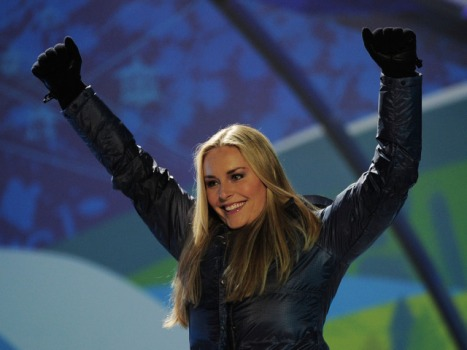 "Lindsey Vonn Grabs Her TV Gold: A Spot on ""Law & Order"""