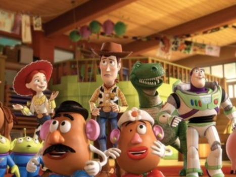 "Two Oscars For ""Up"" Raise Bar For Pixar's ""Toy Story 3"""