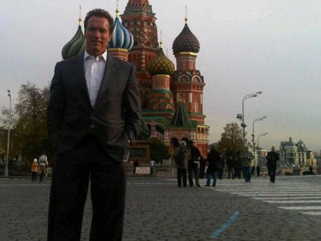 Arnold Takes a Risk in Russia