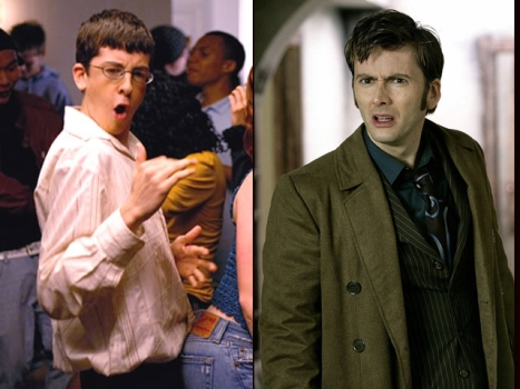 "Christopher ""McLovin"" Mintz-Plasse, David ""Dr. Who"" Tennant In ""Fright Night"""