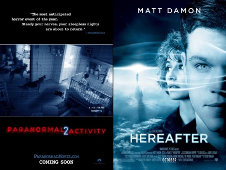 "This Week's Movies: ""Paranormal Activity 2,"" ""Hereafter"" Lead Pack"