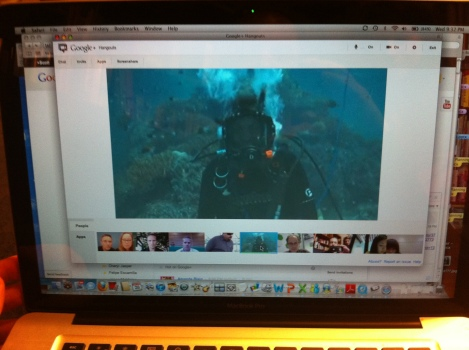 Google+ Hosts 1st Underwater Hangout