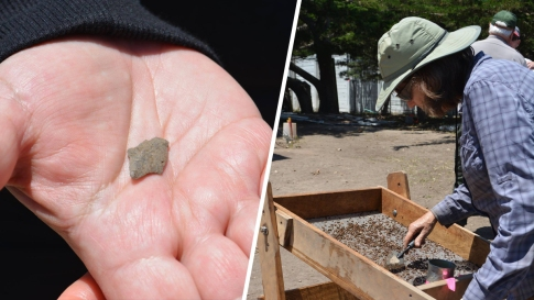 Photos Ancient Native American Site Found On Socal Island