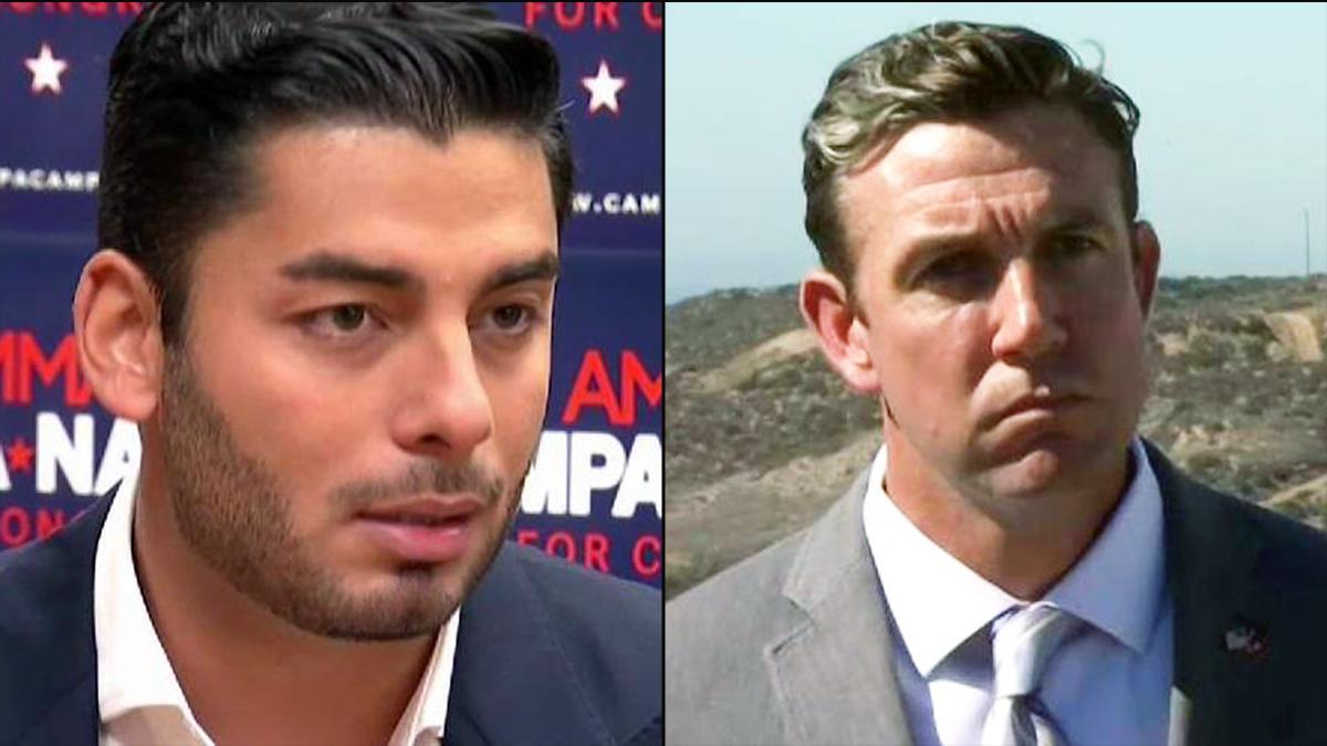Ammar Campa-Najjar (L) is challenging indicted incumbent U.S. Rep. Duncan Hunter.