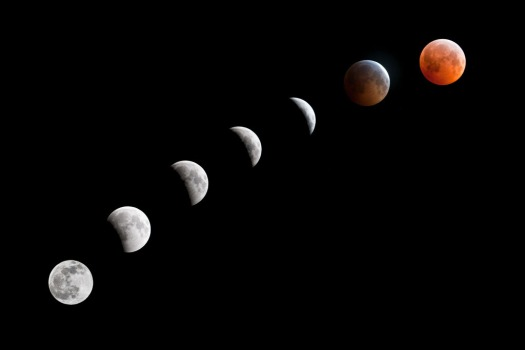 Today's Lunar Eclipse Visible via Google