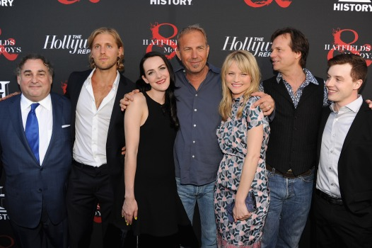 "Costner and Friends Feud in ""Hatfields & McCoys"""
