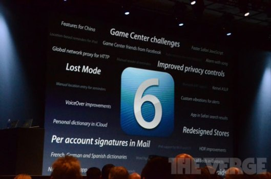 iOS 6 Features to Look Forward to