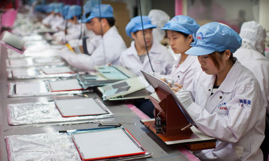 Apple Asks Labor Group to Audit Foxconn
