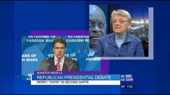 Republican Debate and Perry's Flub