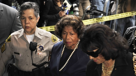 Katherine Jackson, La Toya Jackson React to Conrad Murray Sentence