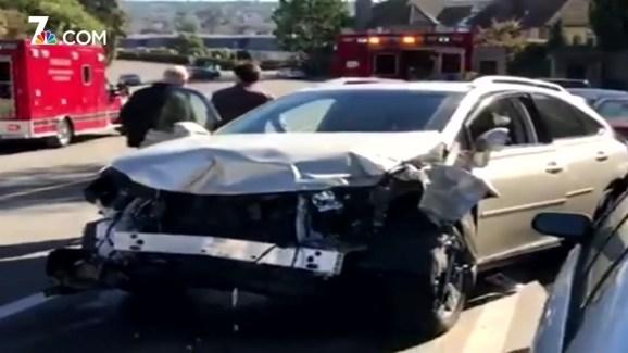 55 Year Old Woman Killed In Carlsbad Two Car Crash Nbc 7 San Diego