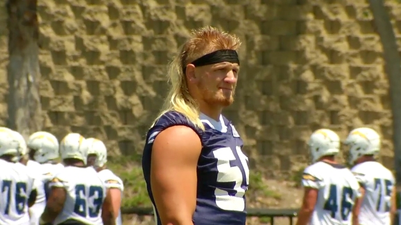 Chargers Rookie Rocks Mullet Nbc 7 San Diego