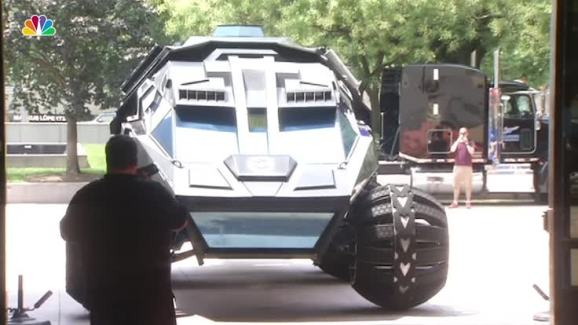 6 000 Pound Mars Rover Concept Vehicle Starts Tour