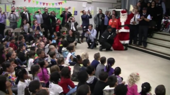 MTS Surprises Students With Bikes