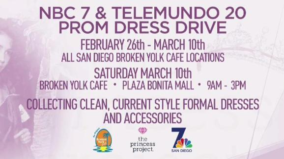 Prom Dress Donations Help Out a \'Princess\' in Need - NBC 7 San Diego
