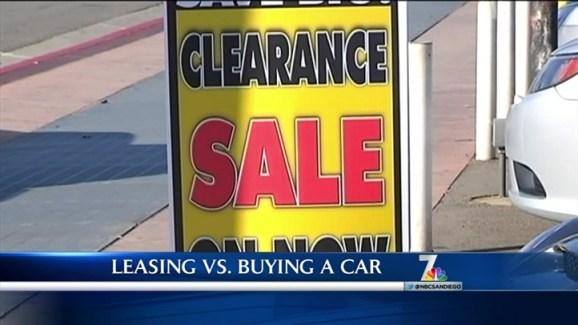 Leasing Vs Buying A Car NBC 7 San Diego