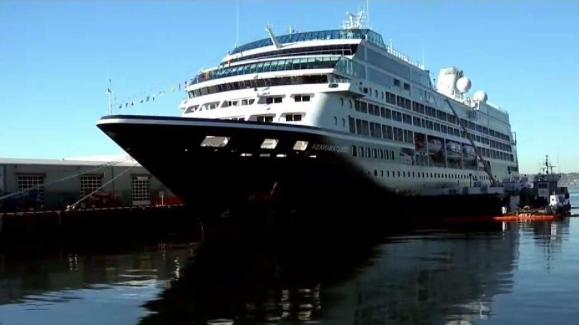 Cruise Ship With Ill Passengers Docks In San Diego NBC San Diego - Where do cruise ships dock in san diego
