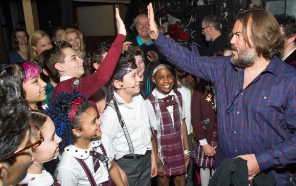 Jack Black Surprises Cast of Broadway's 'School of Rock'