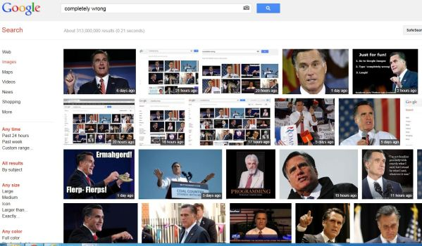 Google Accused of Anti-Romney Bias