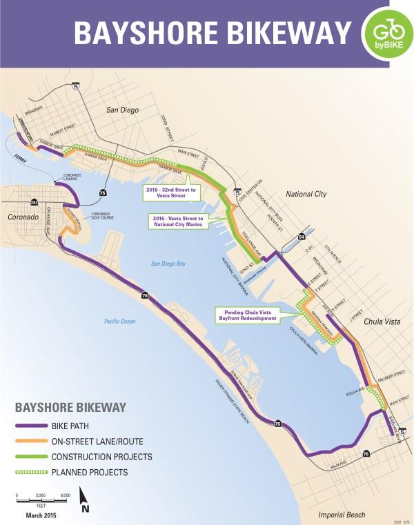 Imperial Beach To Offer Bikeway Village Rest Area On