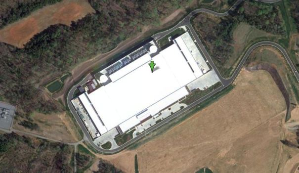 Apple Kept Data Center Off Google Maps?