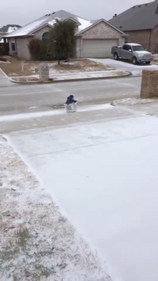 Icy Ride, Tumble - Funny