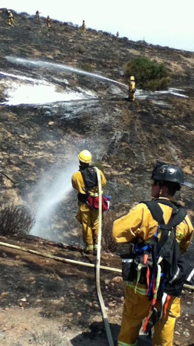 Otay Mesa Grass Fire