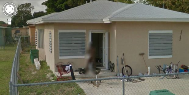 Google Street View Captures Naked Woman