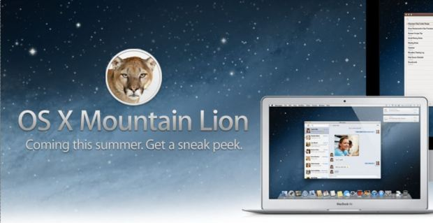 Apple's OS X 10.8 Mountain Lion 'Inspired By iPad'