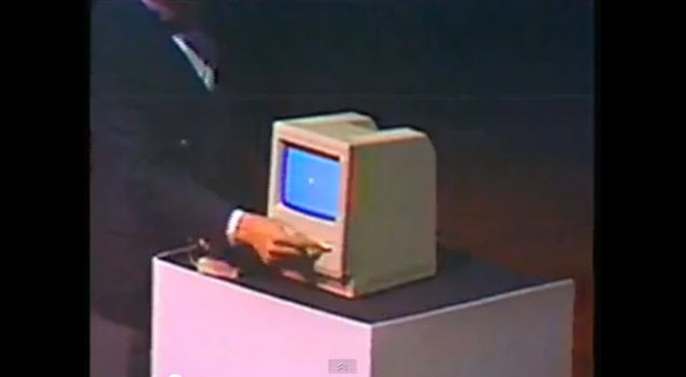 Video: Steve Jobs' 1984 Unveiling of Macintosh