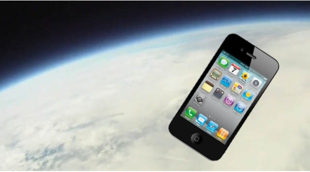 iPhones in Space!