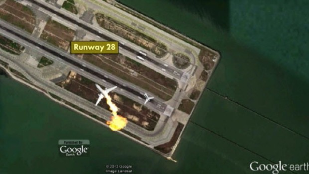 [BAY] Animation of SFO Plane Crash
