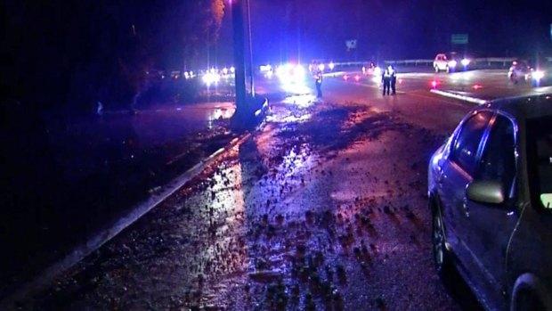 [DGO] Debris Falls on SR 163 Near Downtown