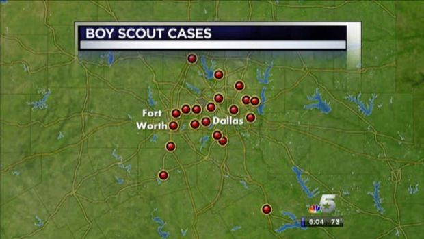 """[DFW] Locals Named in Boy Scout """"Perversion Files"""""""