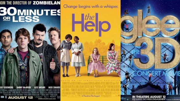 "This Week's New Movies: ""30 Minutes or Less"", ""The Help"", ""Glee"" & More"