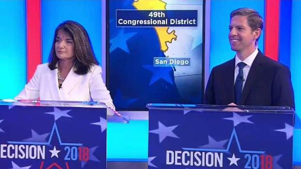 49th District Candidates Take Rapid Fire Questions from NBC 7 Moderators